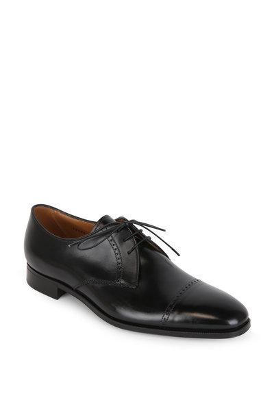 Gravati - Black Leather Derby Dress Shoe