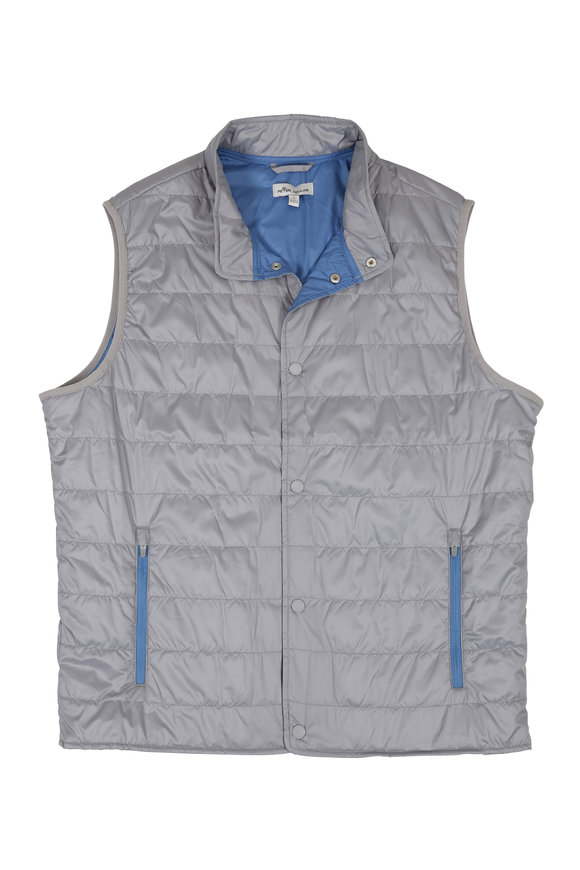 Peter Millar Hyperlight Gray Vest