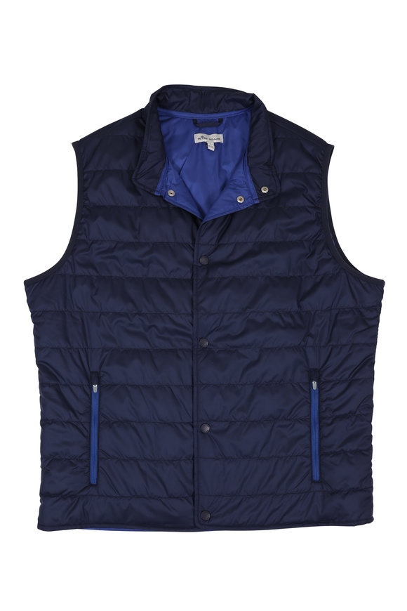 Peter Millar Hyperlight Navy Vest