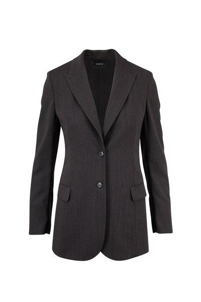 Akris - Adam Magnet Wool Melange Jacket