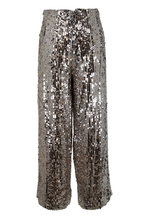 Veronica Beard - Gunnel Silver Sequin Culottes