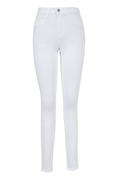L'Agence - Marguerite White High-Rise Skinny Jean