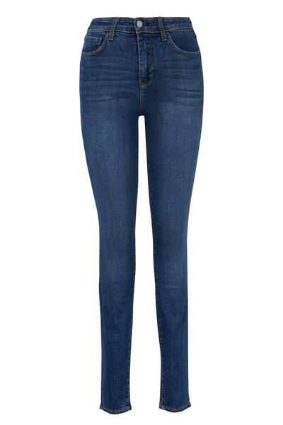 L'Agence - Margueritte Dark Vintage High-Rise Skinny Jean