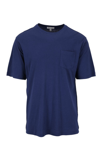 Peter Millar - Seaside Collection Navy Pocket T-Shirt
