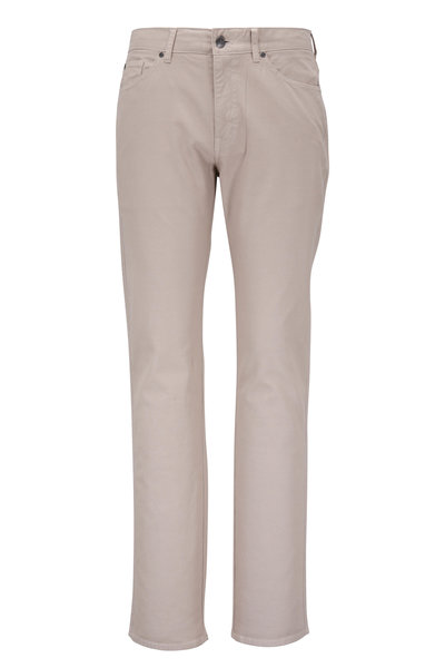 Peter Millar - Crown Vintage Khaki Canvas Five-Pocket Pant
