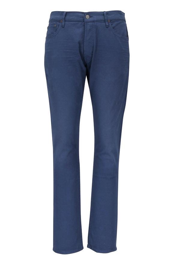 Polo Ralph Lauren Sullivan Navy Blue Twill Slim Pant