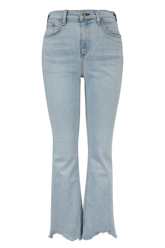 Rag & Bone Hana Clean Lynn High-Rise Crop Jean