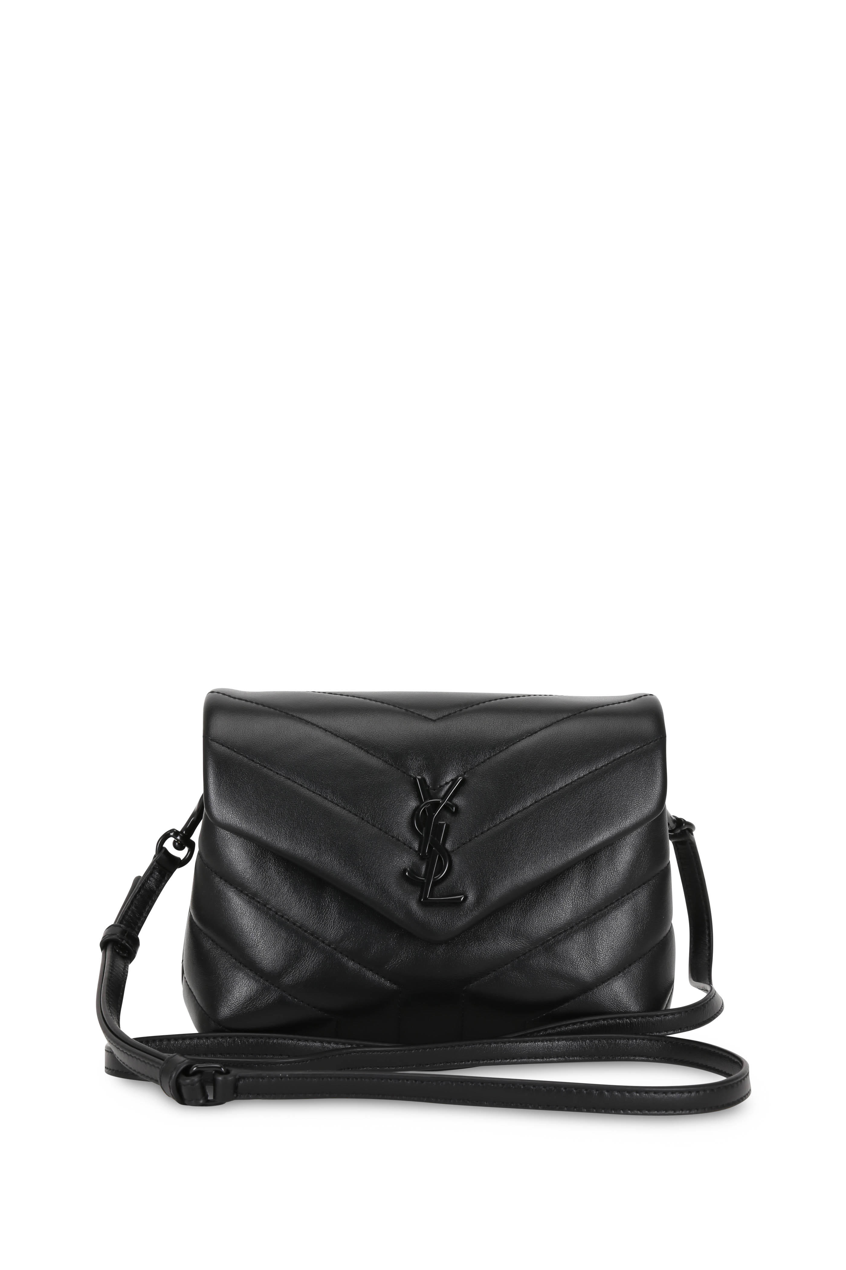 d93dbcdc94 Saint Laurent - Loulou Toy Black Quilted Leather Mini Bag | Mitchell ...