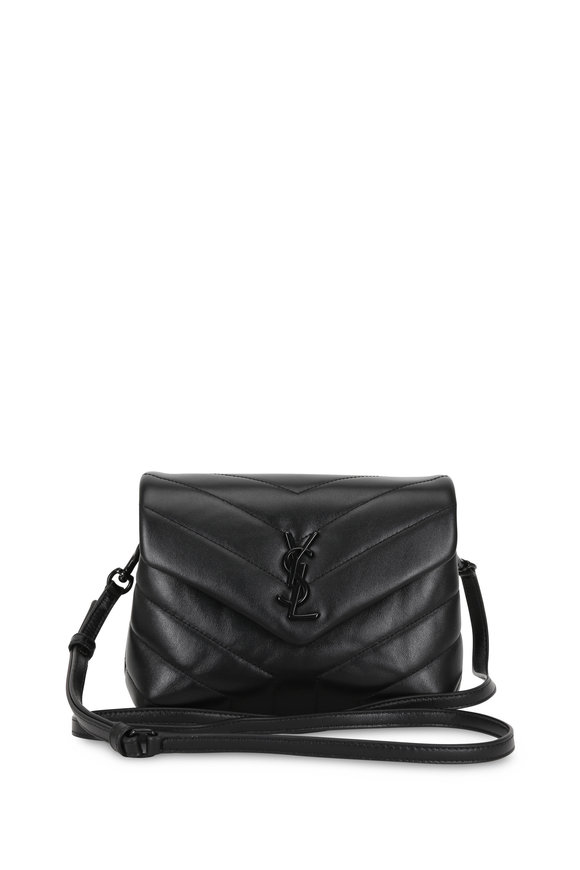 Saint Laurent Loulou Toy Black Quilted Leather Mini Bag