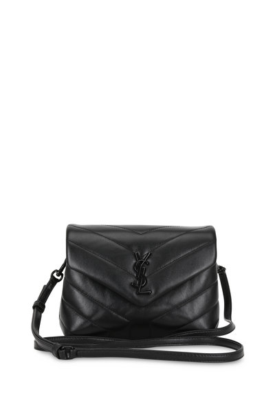 Saint Laurent - Loulou Toy Black Quilted Leather Mini Bag