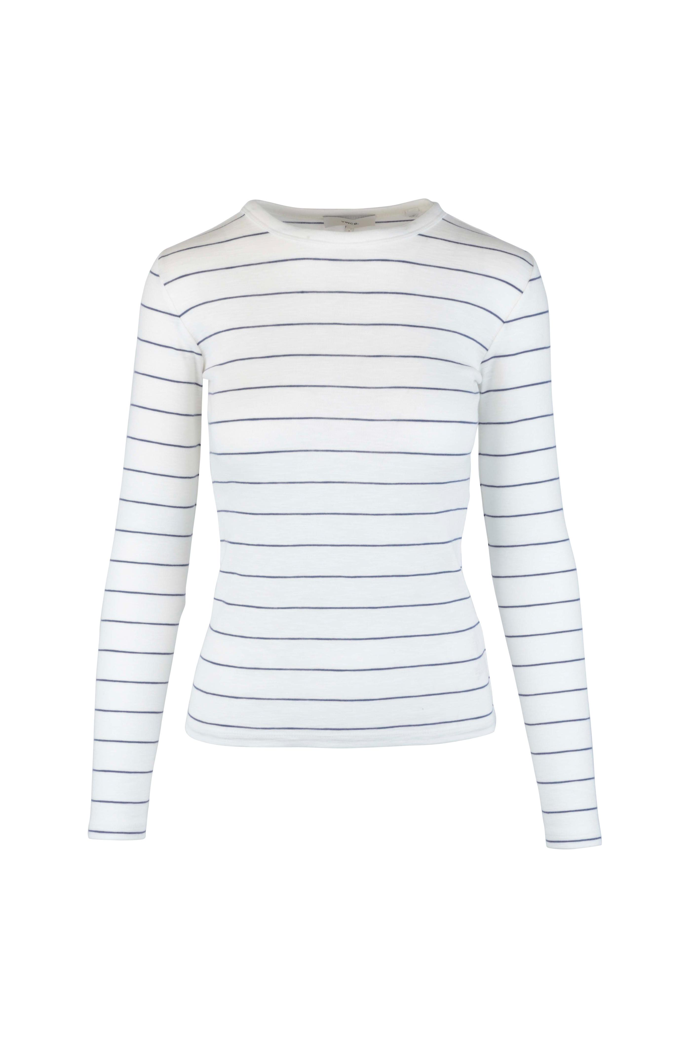c2051c50b2 Blue And White Striped Long Sleeve T Shirt - DREAMWORKS