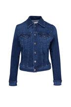 AG - Pin Blue Stretch Denim Jacket