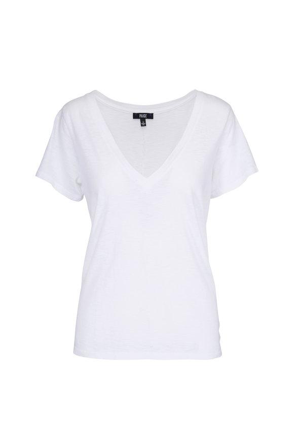 PAIGE Zaya White T-Shirt