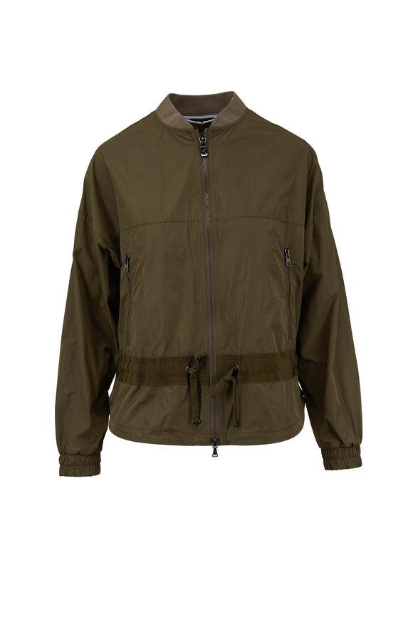 Bogner Mirella Olive Green Bomber Jacket