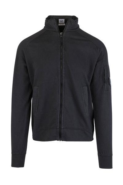 CP Company - Black Fleece Zip Jacket