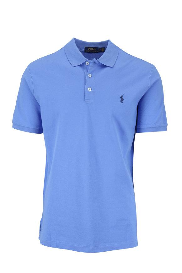 Polo Ralph Lauren Blue Stretch Mesh Short Sleeve Polo