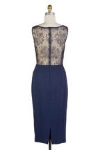 Donald Deal - Navy Blue Lace Dress