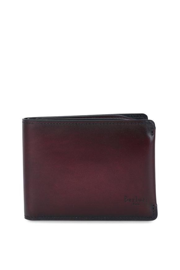 Berluti Essential Medium Brown Leather Wallet