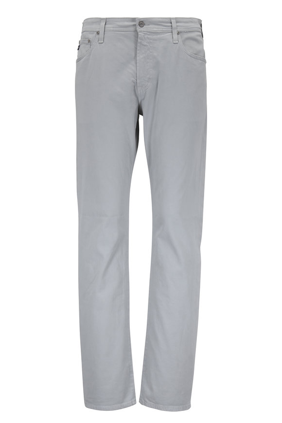 AG - Adriano Goldschmied The Graduate Light Gray Tailored Leg Jean