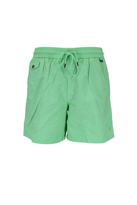 Polo Ralph Lauren Explorer Lime Swim Trunks