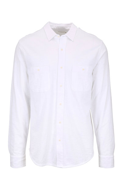 Faherty Brand - Seasons White Cotton Shirt