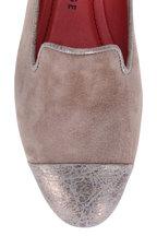 Pas de Rouge - Daria Camel Leather & Suede Cap-Toe Loafer