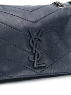 Saint Laurent - Nolita Monogram Navy Blue Quilted Small Bag