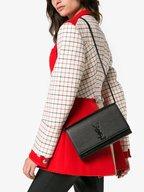 Saint Laurent - Kate Monogram Black Chain Shoulder Bag