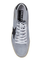 Golden Goose - Men's Ball Star Gray Suede Leather Sneaker