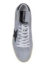 Golden Goose - Men's Ball Star Gray Suede Leather Sneaker