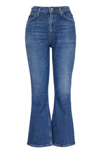Citizens of Humanity - Demy Solo Cropped Flare High-Rise Jean