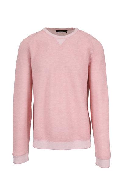 Ermenegildo Zegna - Pink Crewneck Pullover