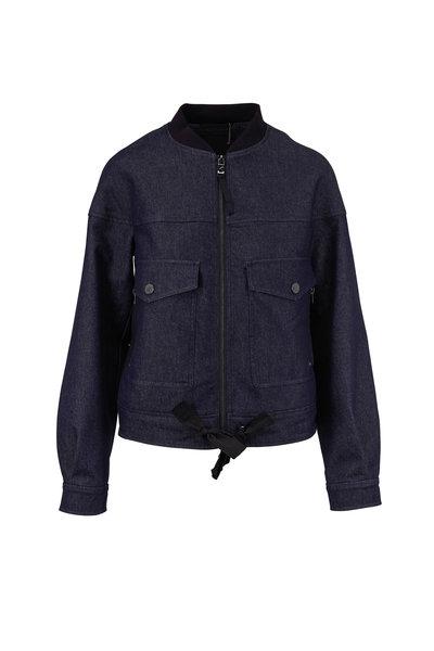 Bogner - Ella Denim Blue Bomber Jacket
