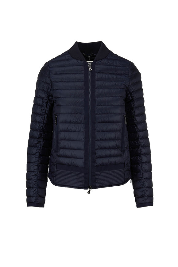 Bogner Ada Navy Quilted Puffer Jacket