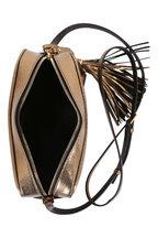 Saint Laurent - Lou Monogram Metallic Gold Tassel Crossbody