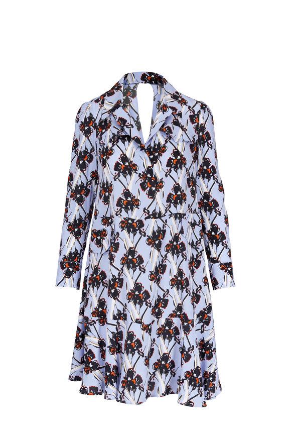 Dorothee Schumacher Flower Breeze Ruffled Long Sleeve Dress