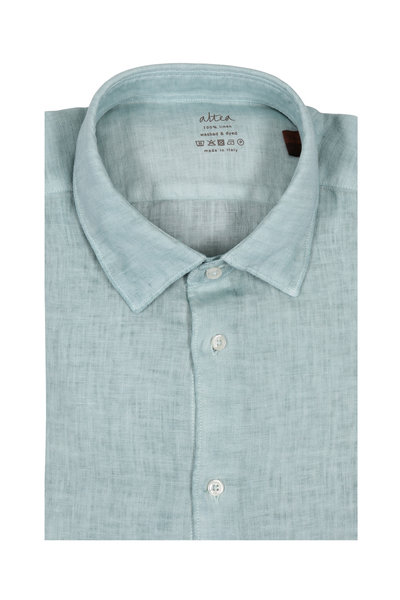Altea - Sage Wash Linen Sport Shirt