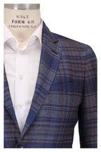 Etro - Multicolor Plaid Hemp & Wool Sportcoat
