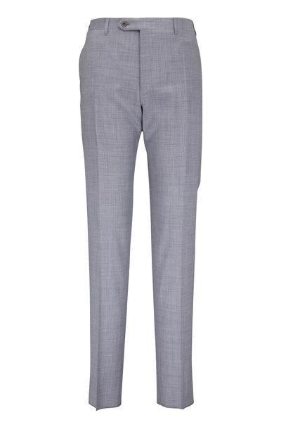 Canali - Light Gray Wool Pant