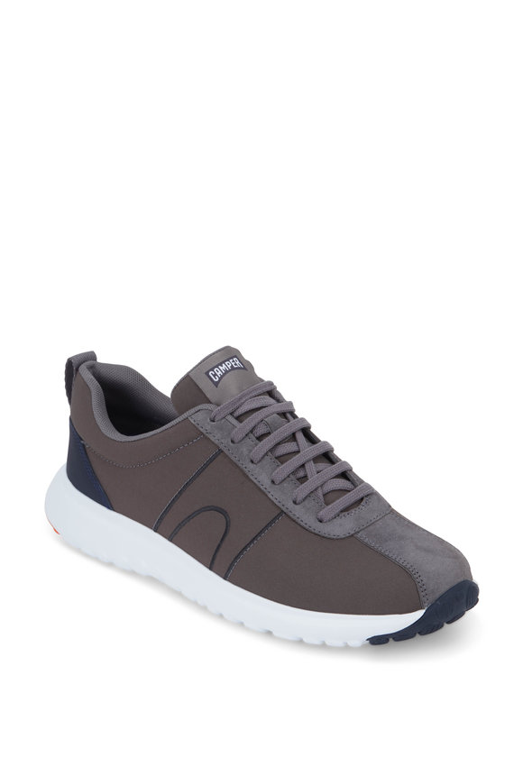 Camper  Lucy Canica Gray Neprone & Suede Sneaker