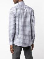 Ermenegildo Zegna - Traveller Navy Blue Plaid Sport Shirt