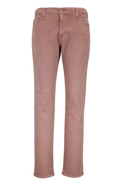 AG - The Tellis Dusty Mauve Modern Slim Jean