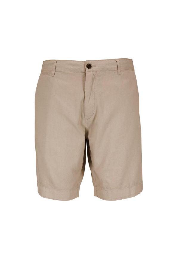 Faherty Brand Harbor Khaki Shorts
