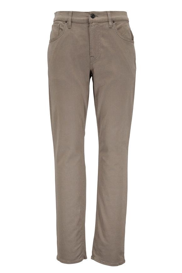 Hudson Clothing Blake Dusty Olive Slim Straight Jean