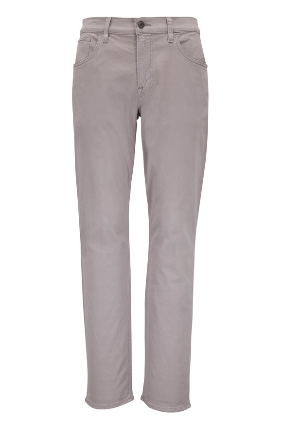 Hudson Clothing Blake Light Gray Slim Straight Jean