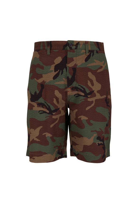 Polo Ralph Lauren Camo Seersucker Classic Fit Shorts