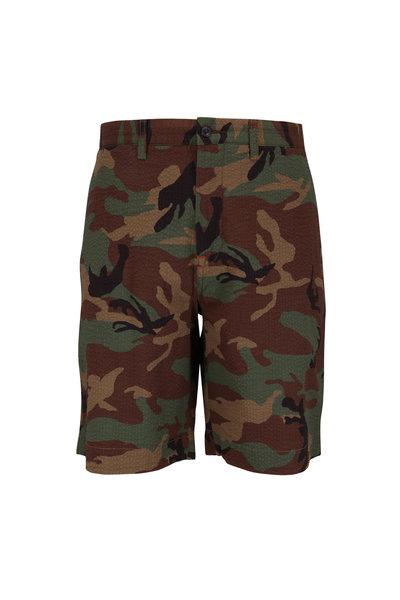 Polo Ralph Lauren - Camo Seersucker Classic Fit Shorts