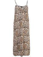 A T M - Leopard Print Silk Dress