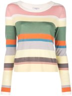 Akris Punto - Multicolor Striped Wool Sweater