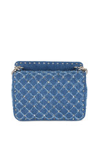 Valentino Garavani - Rockstud Spike Denim Medium Bag
